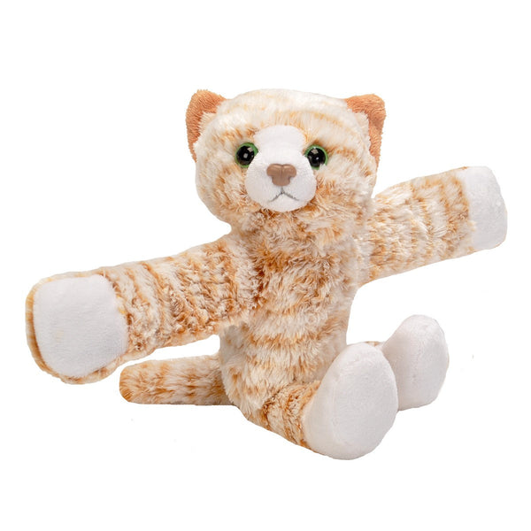 Huggers Orange Tabby Cat Stuffed Animal 8 Wild Republic