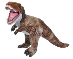 T-Rex Stuffed Animal with teeth - 12""
