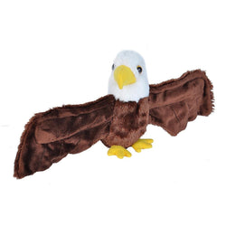 Huggers Bald Eagle Stuffed Animal - 8""