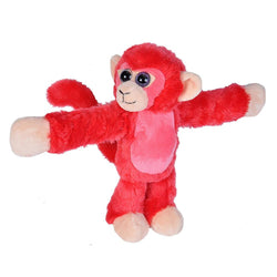 Huggers Red Monkey Stuffed Animal - 8