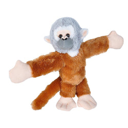 Huggers Squirrel Monkey Stuffed Animal - 8
