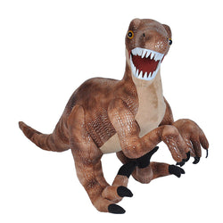 Velociraptor Stuffed Animal with Teeth - 25""