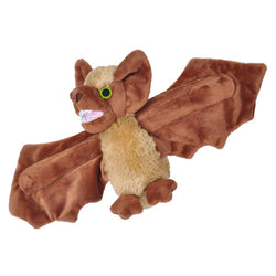 Huggers Brown Bat Stuffed Animal - 8