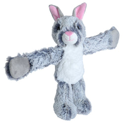 Huggers Grey Bunny Stuffed Animal- 8