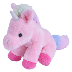 Pink Unicorn Stuffed Animal- 5""