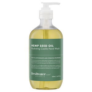 Hemp Seed Oil Hydrating Castile Hand Wash Clear 500ml