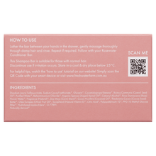 Load image into Gallery viewer, Cleansing Rosewater Shampoo Bar 100g