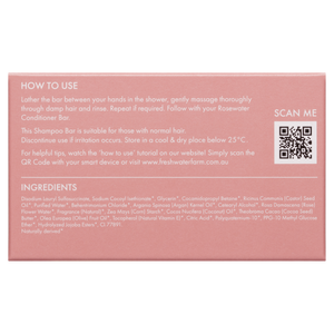 Cleansing Rosewater Shampoo Bar 100g