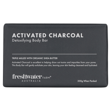 Load image into Gallery viewer, Detoxifying Activated Charcoal Body Bar Soap
