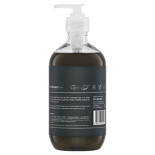 Load image into Gallery viewer, Activated Charcoal Detoxifying Castile Hand Wash Clear 500ml
