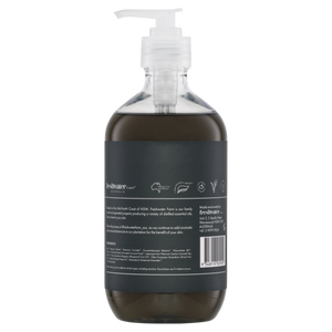 Activated Charcoal Detoxifying Castile Hand Wash Clear 500ml