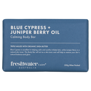 Blue Cypress & Juniper Berry Calming Body Bar Soap