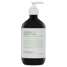Load image into Gallery viewer, Coconut + Desert Lime Refreshing Castile Hand Wash Amber 500ml