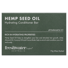Load image into Gallery viewer, Hemp Seed Oil Hydrating Conditioner Bar 70g