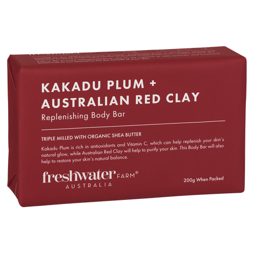 Kakadu Plum and Australian Red Clay Body Bar Soap