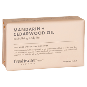 Mandarin and Cedarwood Oil Body Bar Soap