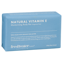 Load image into Gallery viewer, Natural Vitamin E Body Bar Fragrance Free Soap