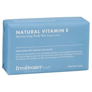 Natural Vitamin E Body Bar Fragrance Free Soap