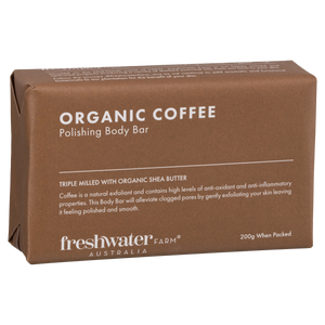 Organic Coffee Body Bar Soap