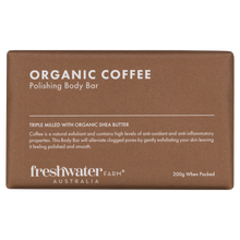 Load image into Gallery viewer, Organic Coffee Body Bar Soap