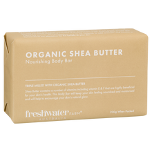 Load image into Gallery viewer, Organic Shea Butter Body Bar Soap