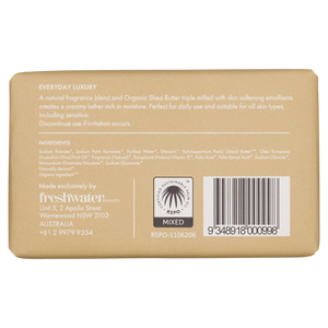 Organic Shea Butter Body Bar Soap