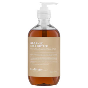 Organic Shea Butter Nourishing Castile Hand Wash Clear 500ml