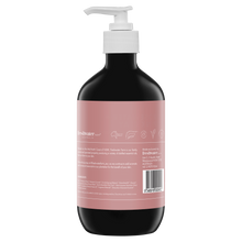 Load image into Gallery viewer, Rosewater + Pink Clay Cleansing Castile Hand Wash Amber 500ml