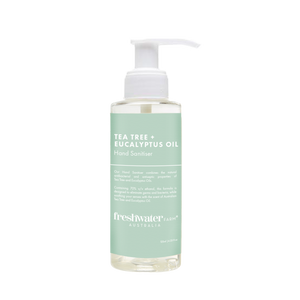 Tea Tree + Eucalyptus Oil Hand Sanitiser Gel 125ml