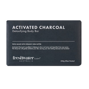 Detoxifying Activated Charcoal Body Bar Soap