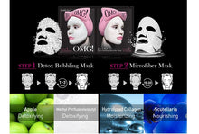 Load image into Gallery viewer, OMG! 2IN1 KIT DETOX BUBBLING MICROFIBER MASK