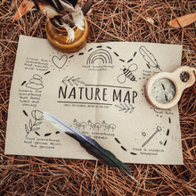 Load image into Gallery viewer, Nature Mindful Map - Digital Download - Free