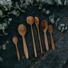 Load image into Gallery viewer, Wooden Natural Spoons (Set of 3)