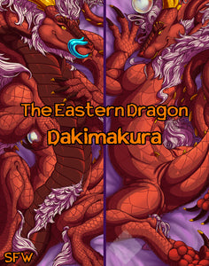 The Eastern Dragon Dakimakura Body Pillow
