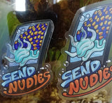 """Send Nudies"" Sticker [2 Sizes]"