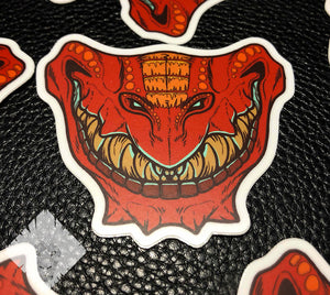"""Maw"" Sticker"