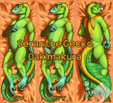 Seran Gecko Dakimakura Body Pillow