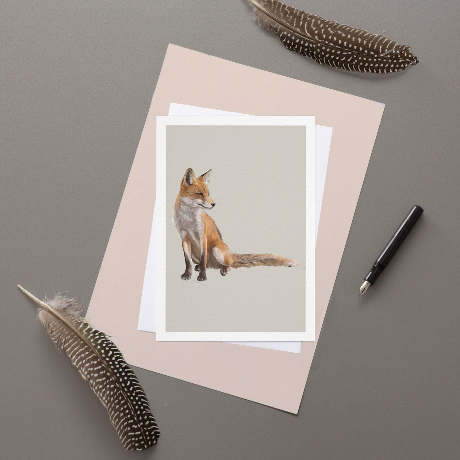 Fox - Greeting Card
