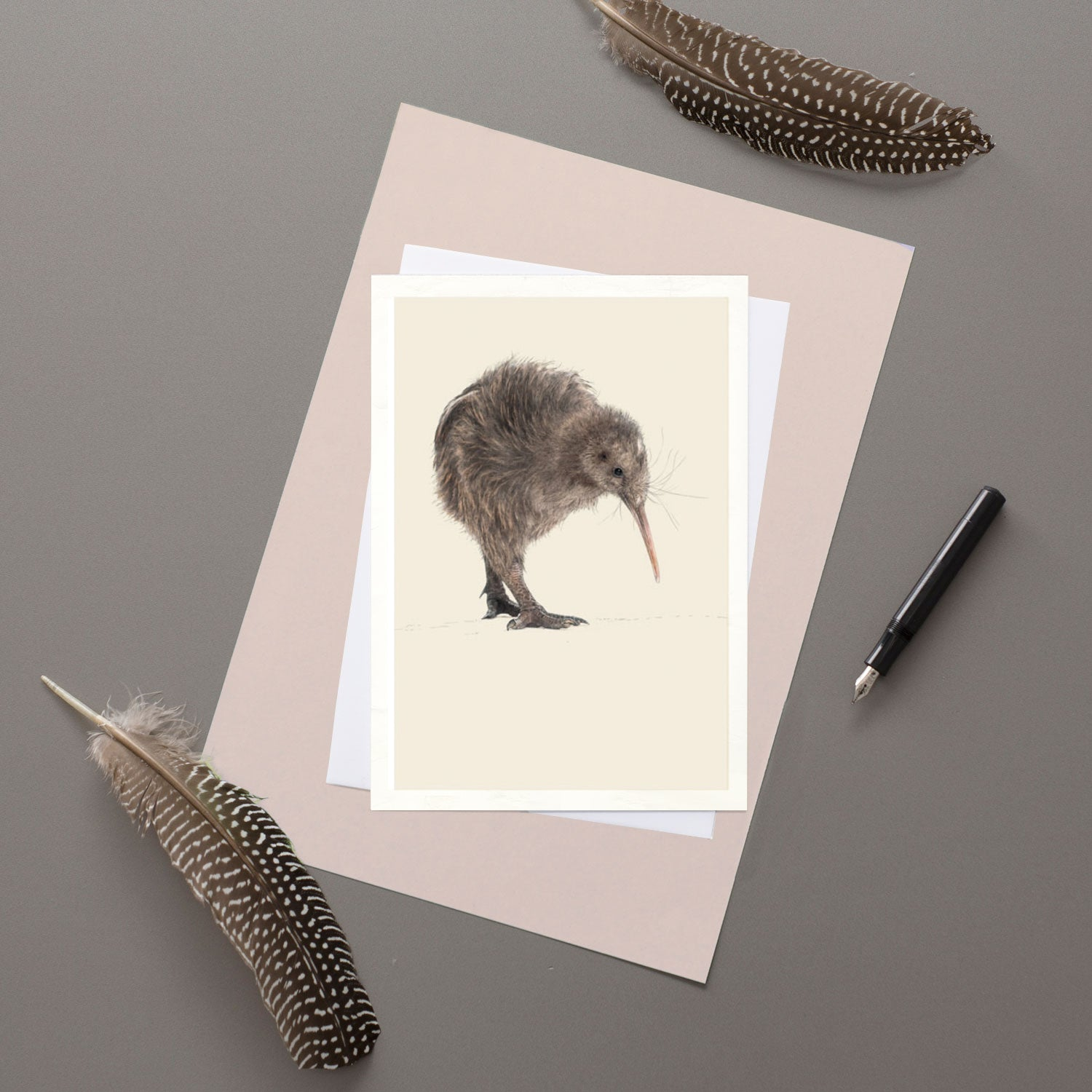 Kiwi - Greeting card