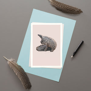 Pangolin - Greeting card