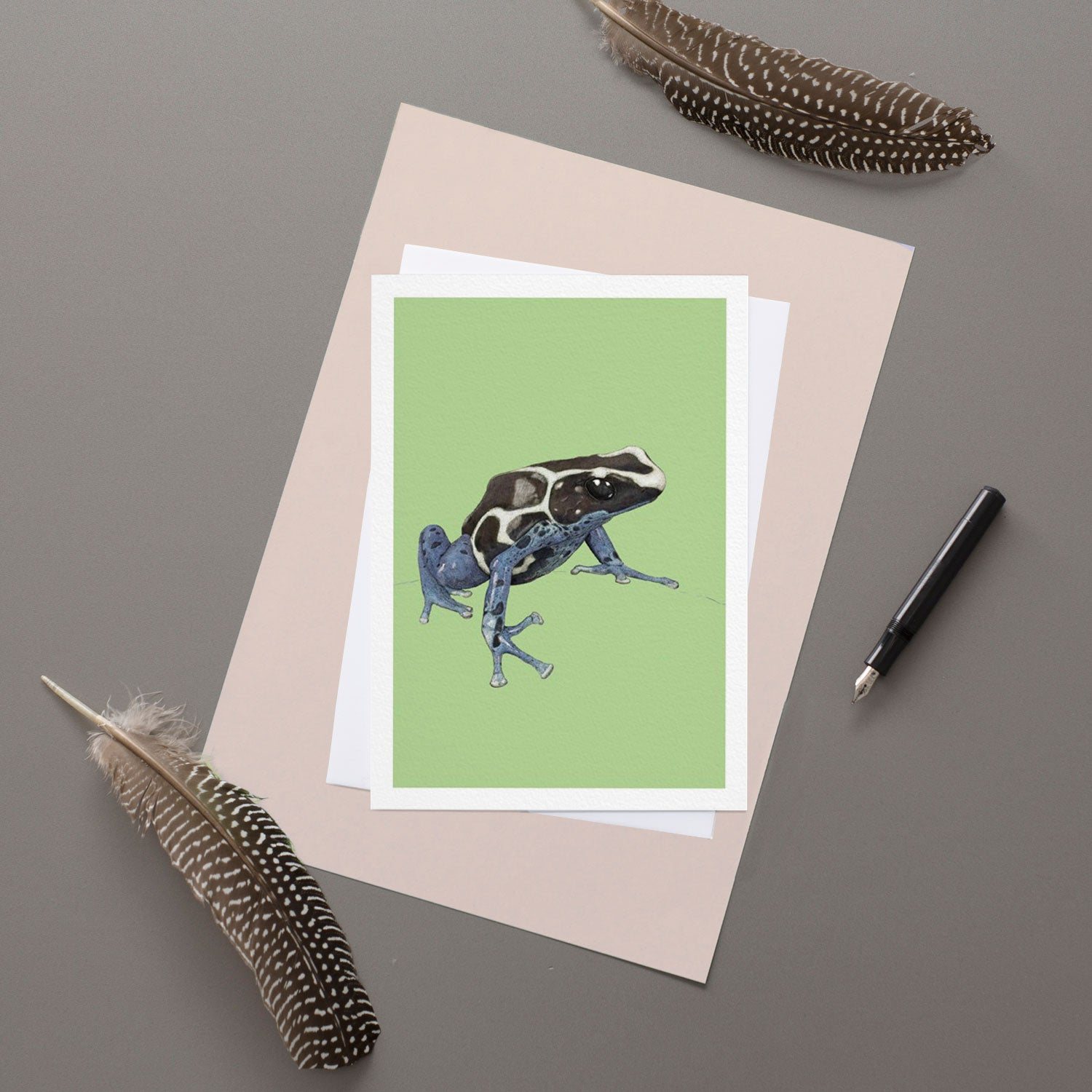 Poison Tree Frog - Greeting Card