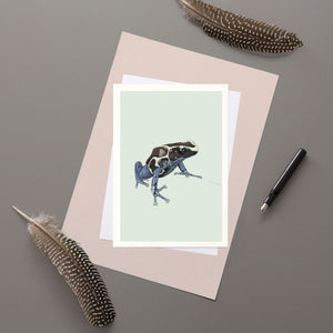 Poison Dart Frog  - Greeting card