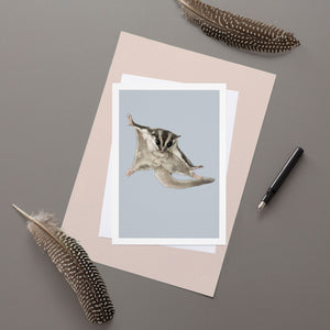 Sugar glider - Greeting Card