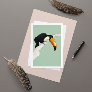 Toucan - Greeting Card