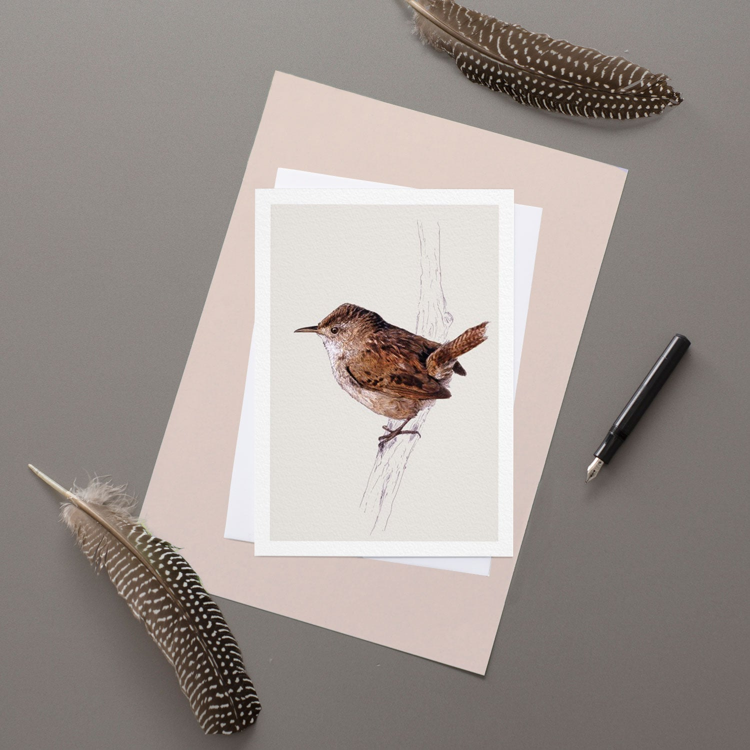 Wren - Greeting Card
