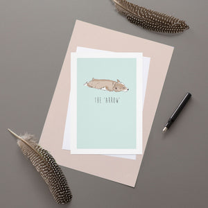 Arrow - Greeting Card