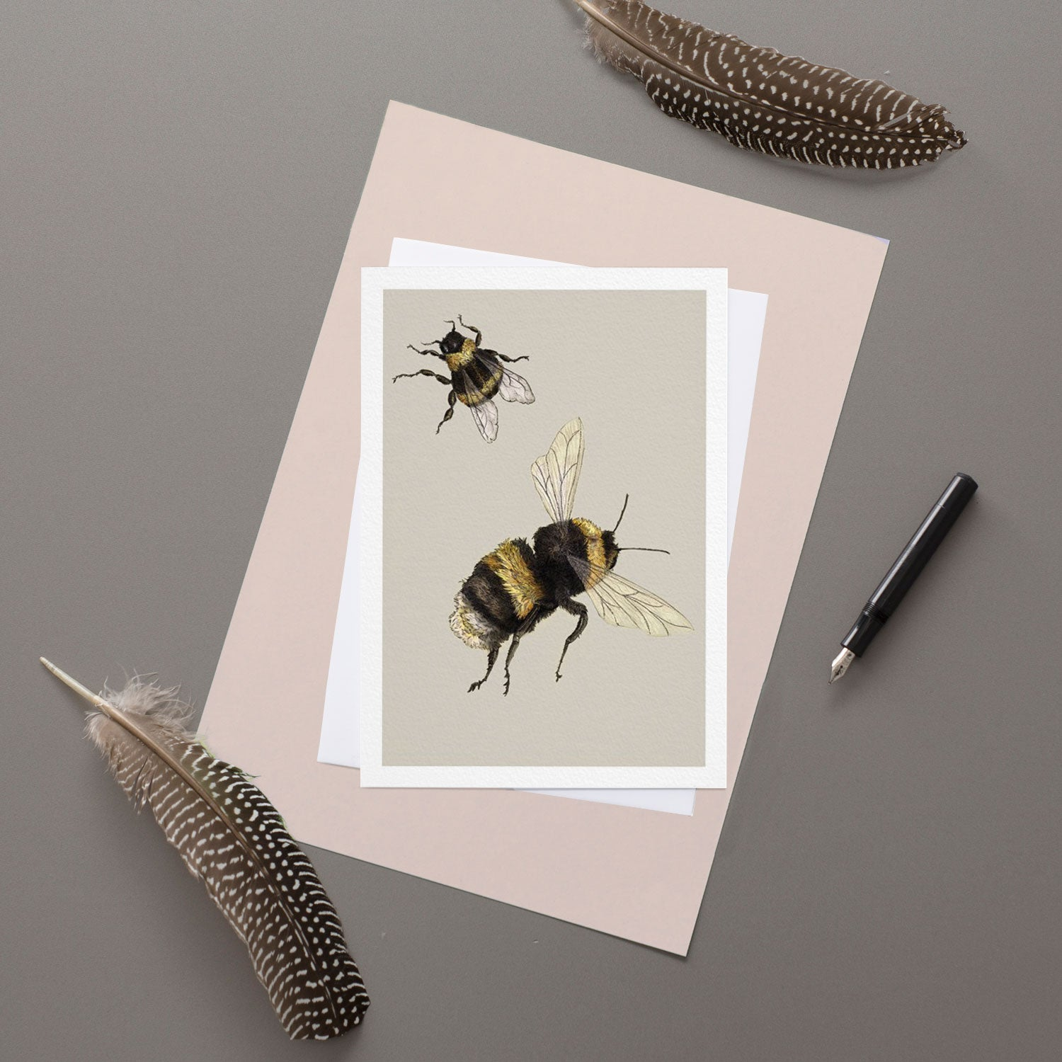 Bumblebee - Greeting Card