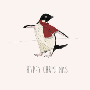Happy Christmas – Adelie Penguin