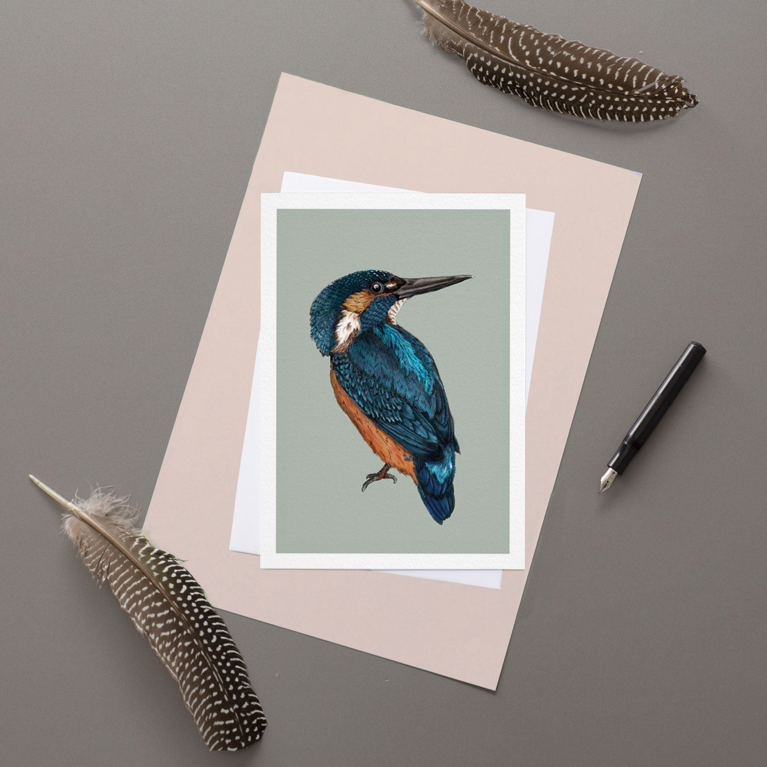 Kingfisher - Greeting Card