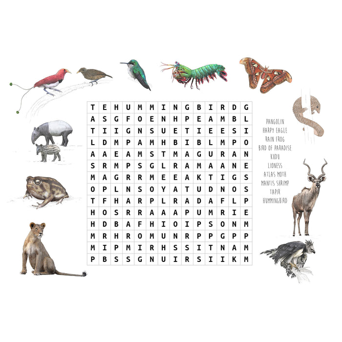 Wildlife Wordsearch